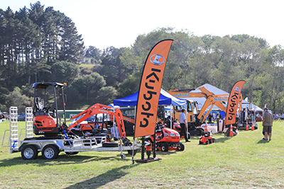 Helensville Show trade stands